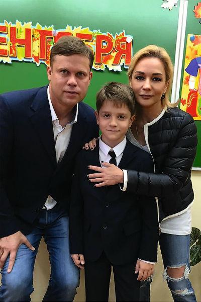 Певица и ее бывший супруг Владислав Радимов воспитывают сына