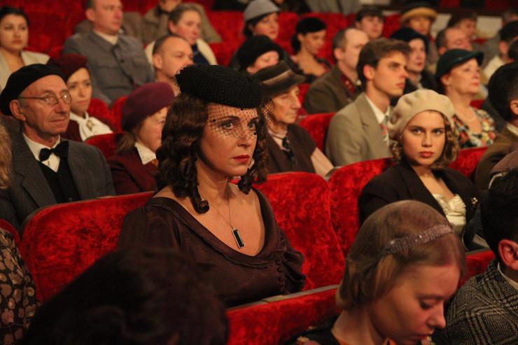 Зрители оценили роль Лютаевой в сериале «Гетеры майора Соколова»