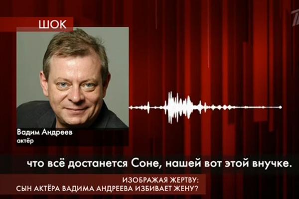 Андреев возмущен заявлениями невестки