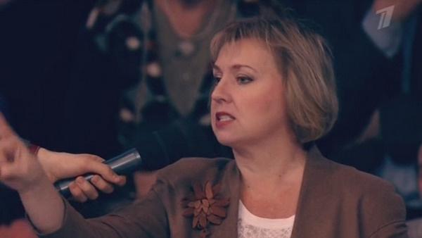 Зрительница передачи осудила поведение Оксаны Богдановой и волонтера Марины