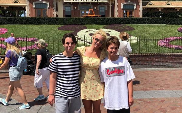 Бритни мечтает жить вместе с сыновьями