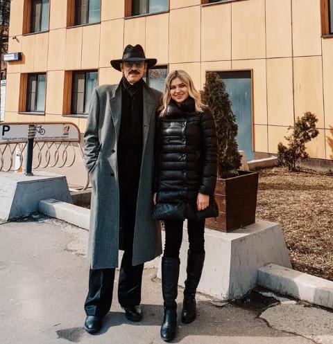 Михаил и Катерина Боярские