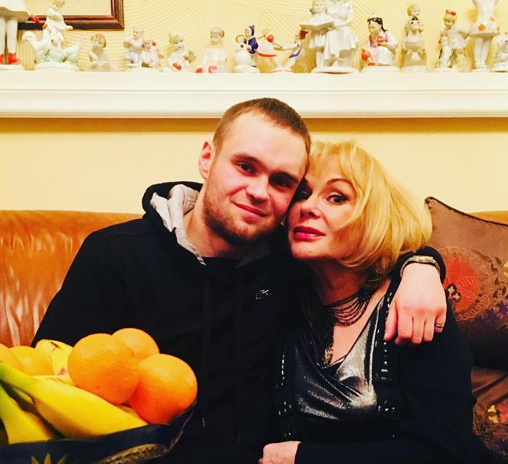 Евгений вместе с Цывиной