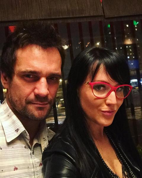 Дмитрий с женой Юлией