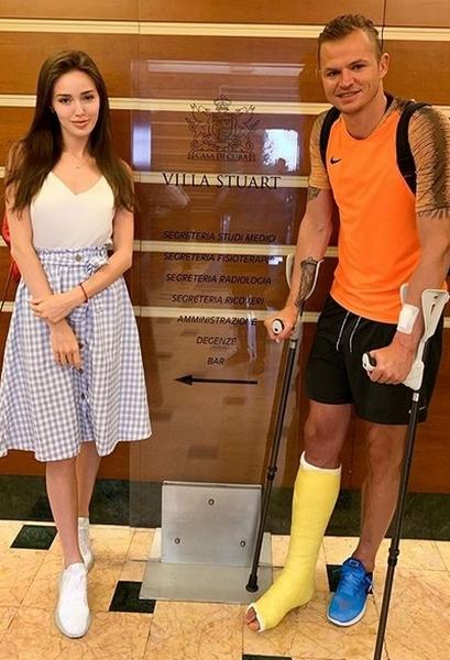 Анастасия поехала в Рим вместе с мужем