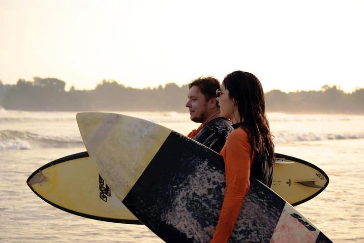 Несколько лет назад Ахмедова увлеклась серфингом
