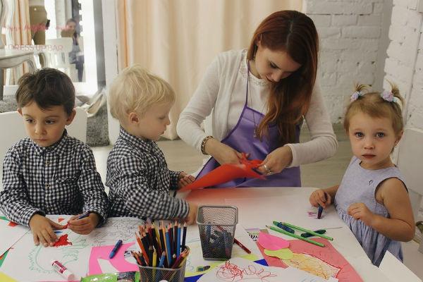 Для малышей и их родителей устроили интересные мастер-классы