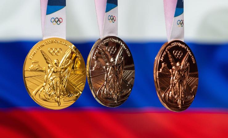 В этом году сборная России выступает под олимпийским флагом