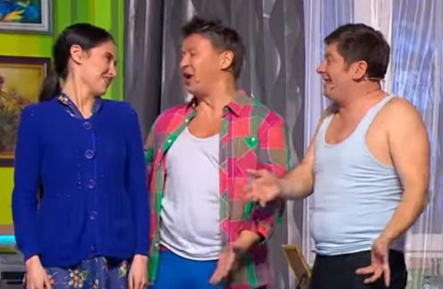 Участники шоу «Уральские пельмени»