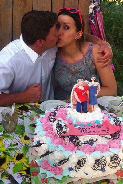 2 июля Елена и Валерий отметили десятую годовщину свадьбы