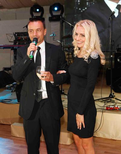 Друга и коллегу поздравил Алексей Серов