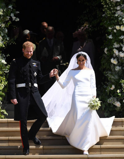 На протяжении всей свадьбы Гарри трогательно заботился о Меган