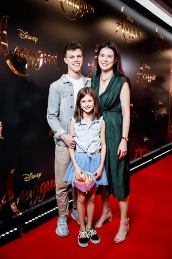 Мария Верник с детьми