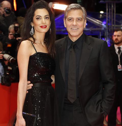 Джордж Клуни впервые заговорил о беременности жены