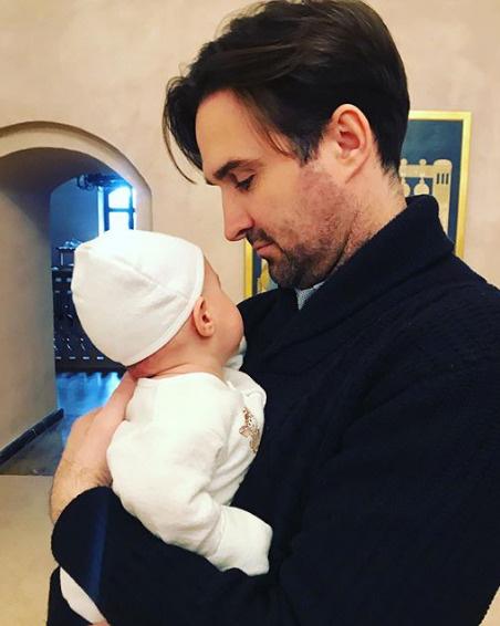 Максим Петров с сыном Андреем