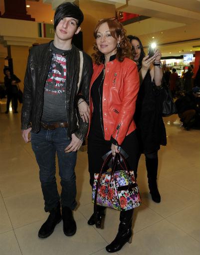 Виктория Тарасова с сыном