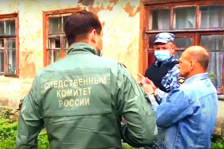 Андрей давал показания на месте гибели последней жертвы