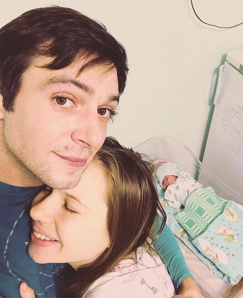 В конце ноября у Баршака родилась дочь