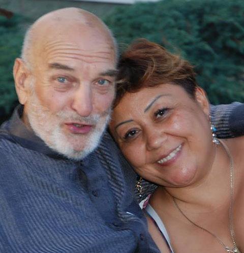 Алексей Петренко с женой Азимой