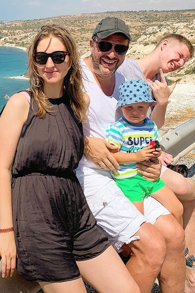 У Максима Виторгана трое детей