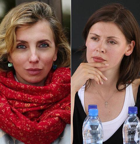 Светлана Бондарчук и Ольга Дыховичная