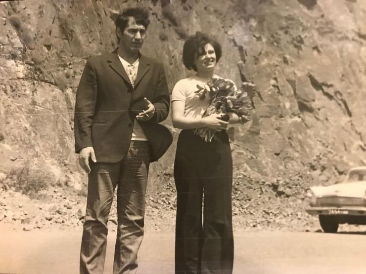 Родители Карины в молодости