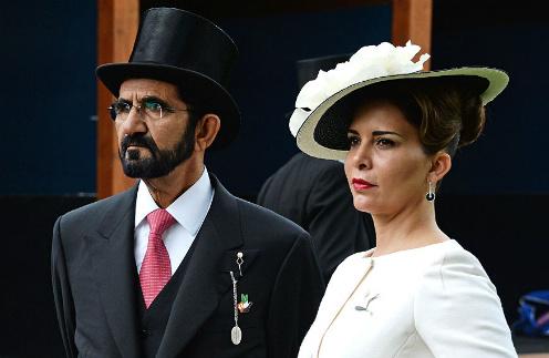 Моххаммед ибн Рашид Аль Мактум и принцесса Хайя