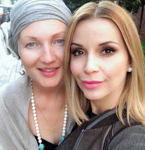 Мила Туманова и Ольга Орлова