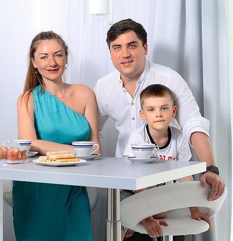 Семья любит собираться вместе за завтраком, чтобы обсудить планы на день