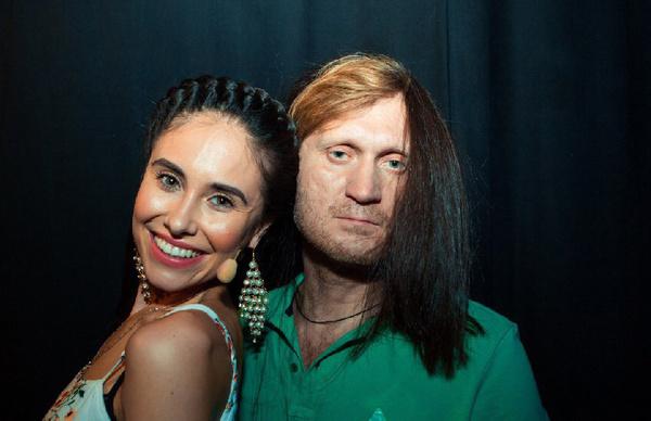 Илана и ее коллега Андрей Рожков
