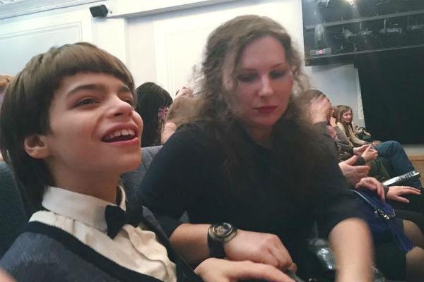 Анастасия Мартцинковская с сыном