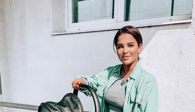 Екатерина Колисниченко крестила сына