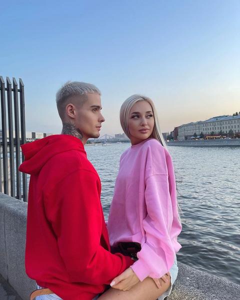 Настя Стецевят и Максим Колесников