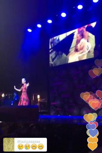 Звезды транслировали выступление Варвары онлайн в своих соцсетях