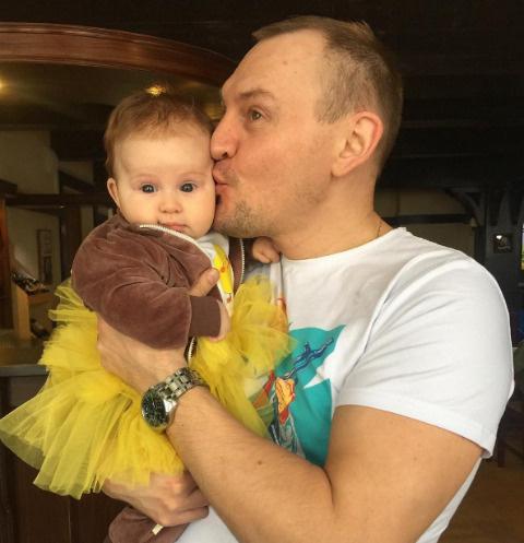 Степан Меньщиков с дочерью Варварой
