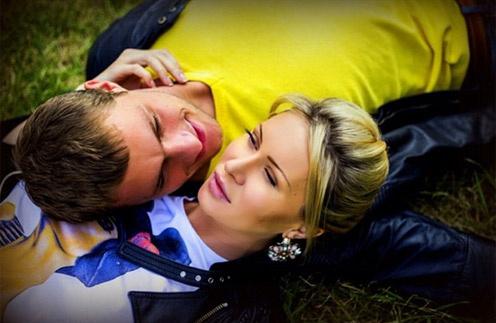 Участники «Дома-2» Элина Камирен и Александр Задойнов
