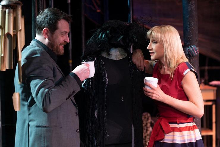 В «Современнике» Сафонов вместе с Кристиной Орбакайте задействован в спектакле «Двое на качелях», поставленной Галиной Волчек