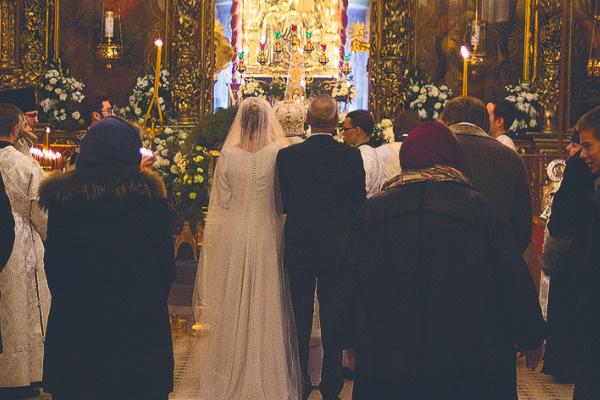 Венчал пару друг семьи митрополит Псковский и Порховский Тихон