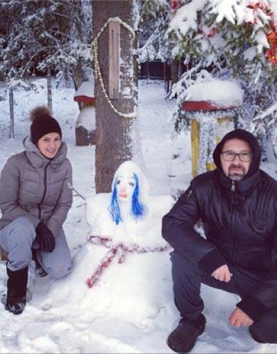 Алексей Рыжов с женой Ириной