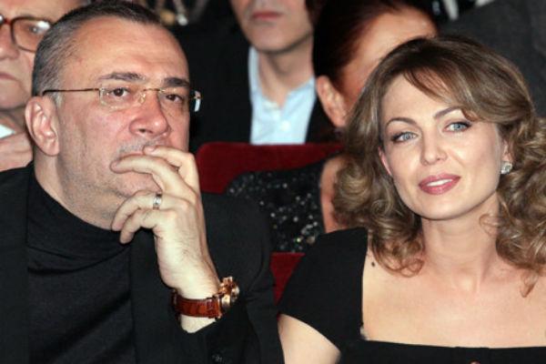 Константин Меладзе с первой женой Яной