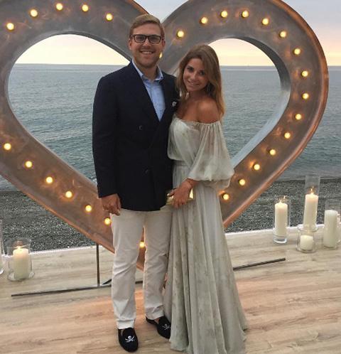 Галина Юдашкина и ее муж Петр Максаков
