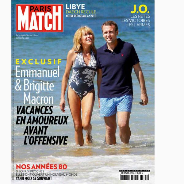 В августе прошлого года супруги согласились позировать для французского еженедельника