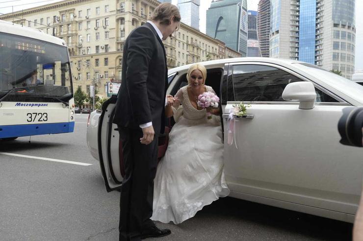 Бракосочетание состоялось в Кутузовском загсе столицы