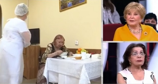 Сетаре Казымовой в доме престарелых предлагают три блюда на выбор на обед