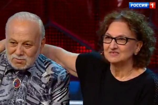 Бедрос Киркоров с сестрой Мари