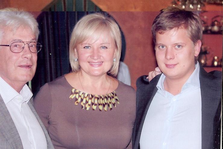 Вторая супруга Людмила подарила Чумаку сына Дмитрия