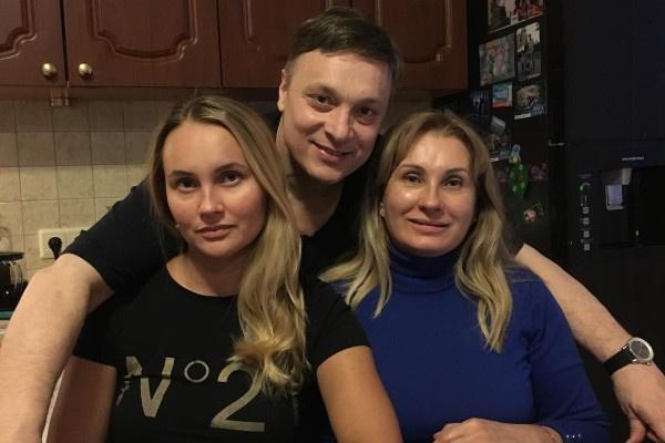 Андрей Разин сохранил теплые отношения с Маританой и ее мамой