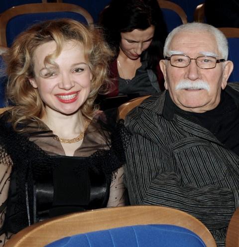 Виталина и Армен Джигарханян