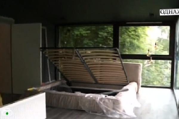 Так выглядит спальная комната Дианы Арбениной
