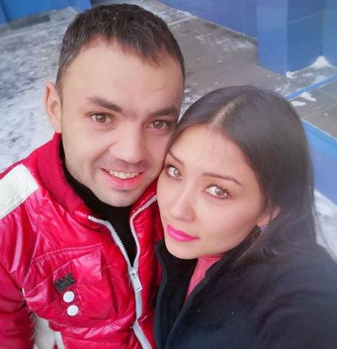 Александр Гобозов и его невеста Надежда